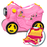 Moltó Smiler Moto suitcase deluxe – Pink