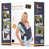Ergonomic Comfort Carrier Denim