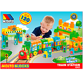 Train Blocks 120 pcs