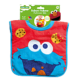 """Sesame Street"" Pullover Bib Cookie Monster Molto"