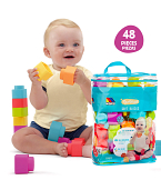 Play&Sense Soft Blocks 48 uds