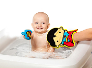 Superhero Bath Mitt Assorted Superman