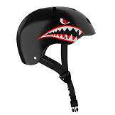 Black Shark kiddies' helmet
