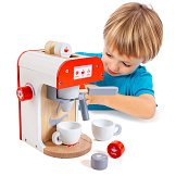 Molto Coffee Maker, wooden toy coffee maker