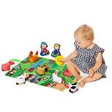 Moltó Farm & Fun play mat