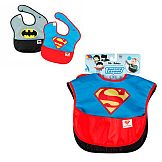 Pack 2 Bibs Superman and Batman – Justice League