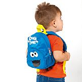 """Sesame Street"" Cookie Monster Insulated Backpack Molto"