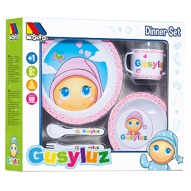 Crockery GusyLuz – Set 6 pcs GusyLuz Pink