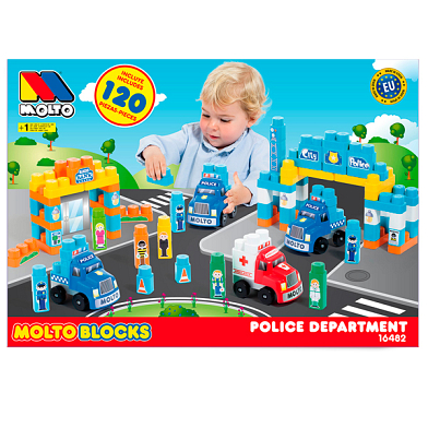 Police Department 120 pieces