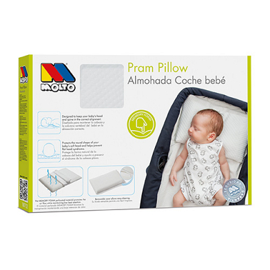 Pram Pillow for Babies Molto