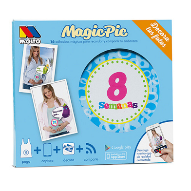 Augmented Reality Stickers Magicpic Pregnancy