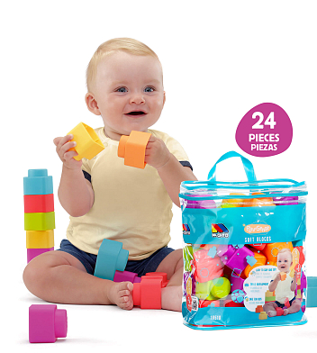 Play&Sense Soft Blocks 24 uds