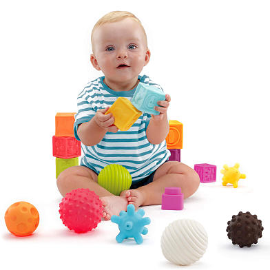 Play&Sense Cubes 12 pcs.