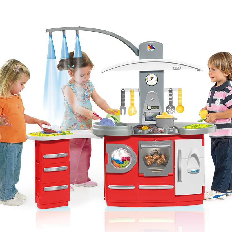 Molto kitchen electronic deluxe molto juguetes y puericultura - Cocina de juguete step 2 ...